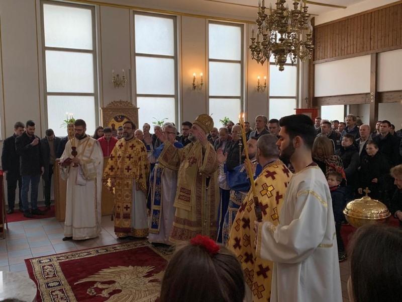 Bogosluženje u Ulmu - Vladika Gligorije